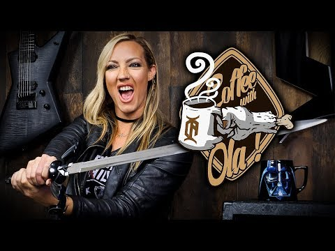 COFFEE WITH OLA - NITA STRAUSS of ALICE COOPER