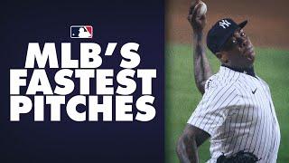 The Fastest MLB Pitches of the 2020 Season! (Aroldis Chapman, Garrett Crochet and more!)