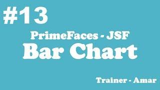 PrimeFaces - JSF Tutorial || Bar Chart in PrimeFaces using Netbeans IDE || Part-13