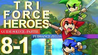 Soluce Tri Force Heroes : Niveau 8-1
