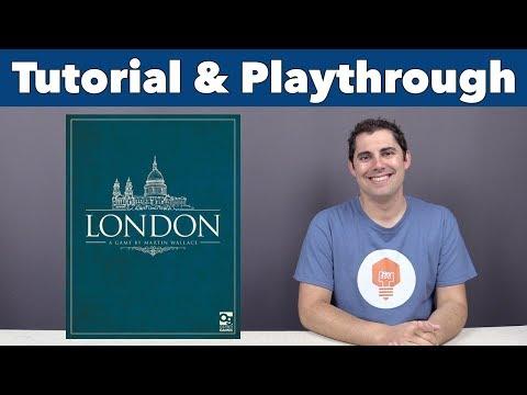 JonGetsGames - London 2nd Ed Tutorial & Playthrough