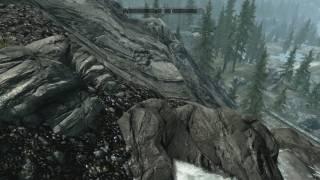 Прыжок в воду Skyrim #1