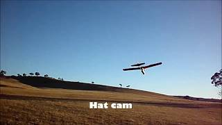 My first FPV flight, Old school