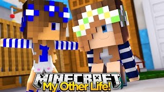 My Other Life #8-MEETING MY NEW SISTER (Minecraft Roleplay)