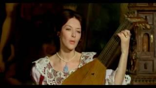 """Барбара Брыльска и Магдалена Завадска в фильме """"Пан Володыёвский"""" (1969),  часть 1-я."""