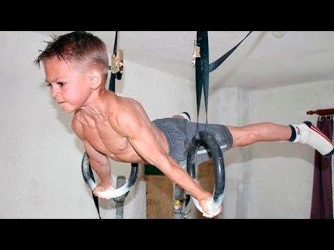 НЕВЕРОЯТНЫЕ дети! Спортивная подборка 2017, трюки 80 уровня видео