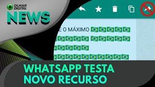 Ao vivo | WhatsApp testa novo recurso | OD News - 20/07/2018 | Kholo.pk