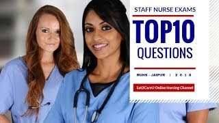 AIIMS Staff Nurse Exam Preparation Tutorial - Ten Questions