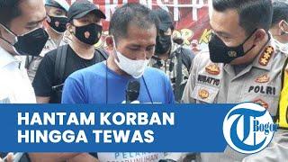 Cemburu Korban Pacaran dengan Pria Lain, Sopir Angkot Hantam Kepala Janda hingga Tewas dengan Balok
