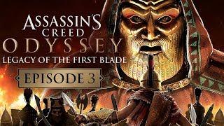 Assassin's Creed Odyssey   DLC El Legado de la Primera Hoja Oculta EPISODIO 3 GAMEPLAY COMPLETO