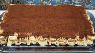 Τιραμισού φανταστικό πανεύκολο με αυθεντική ιταλική συνταγή! – Delicious tiramisu