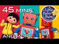 Robot Song | Little Baby Bum | Nursery Rhymes for Babies | Songs for Kids