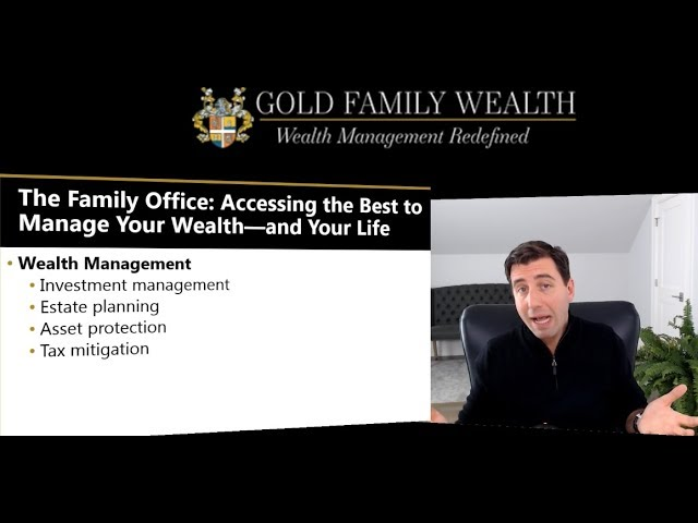 What is a family office, and how can you have one even if you're not super-rich?