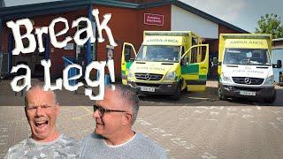 Break a Leg! Emergency Narrowboat trip to the Hospital!