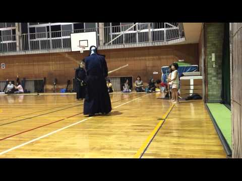 H27 9/2 可知小学校 新入団員1