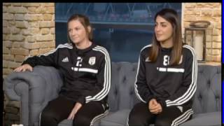 STV Live at Five | Lauren McMurchie and Haley Rosen  (25/10/16)