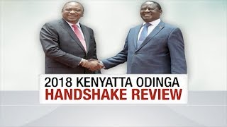 Reviewing the Uhuru Kenyatta, Raila Odinga March 9 handshake a year on | UNTOLD STORY