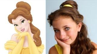 Belles Hairstyle Tutorial | A CuteGirlsHairstyles Disney Exclusive