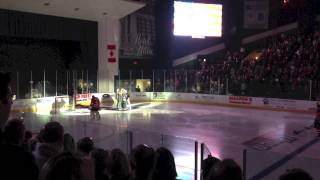 preview picture of video 'Utica Comets Home Opener - National Anthem'
