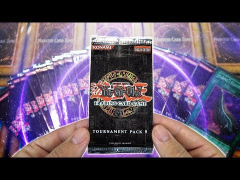SEARCH for the Most Valuable YuGiOh Spell Card | Tournament Pack 8 Box Opening & Review