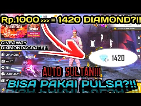 TOP UP DIAMOND SUPER MURAH BAHKAN GRATIS!!! AUTO SULTAN!!! || FREE FIRE BATTLEGROUNDS🔥