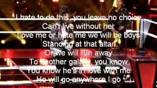 Anita Antoinette-Rude-The Voice 7[Lyrics]