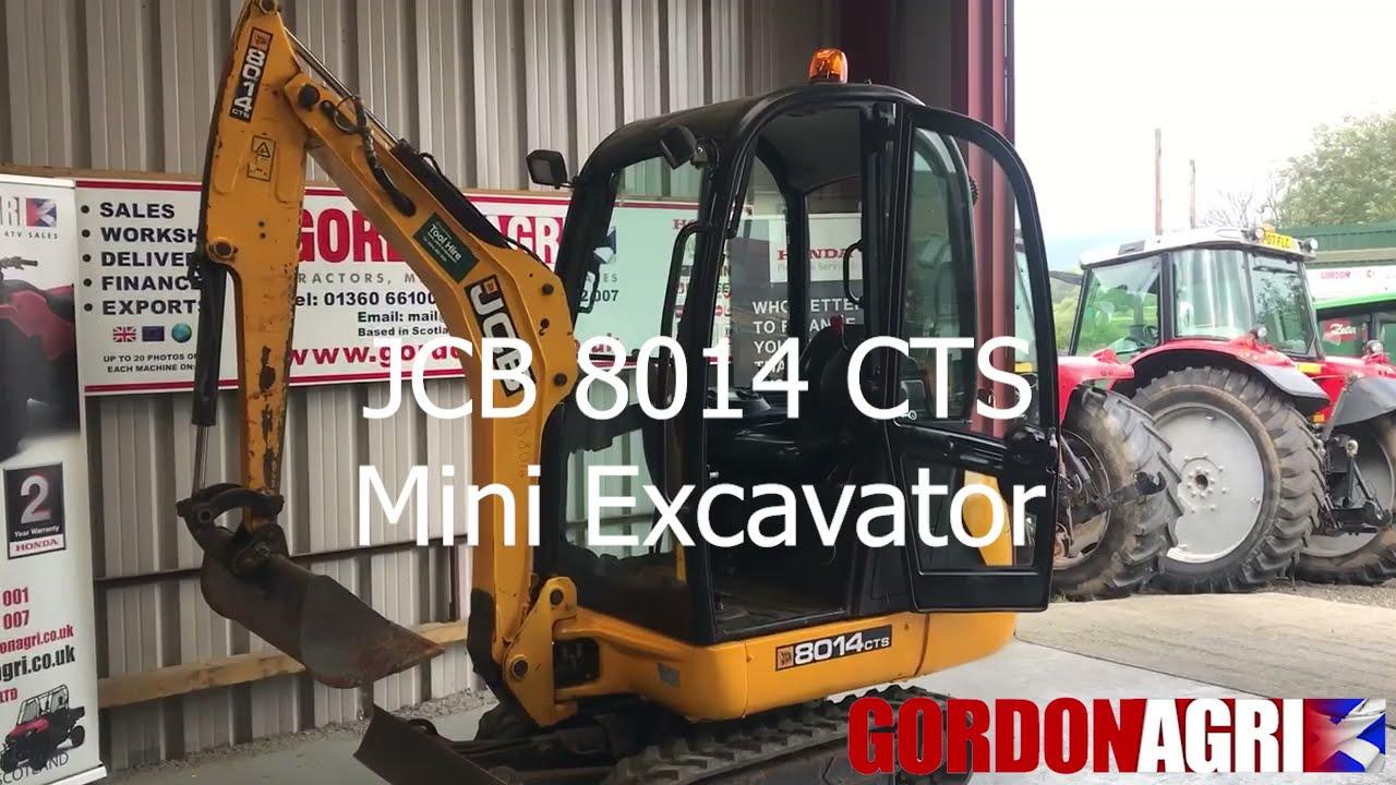 JCB 8014 CTS Mini Excavator 1.5 Ton