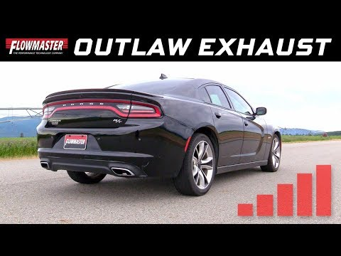 2015-16 Charger R/T 5.7L, 2015-19 Chrysler 300 5.7L Outlaw Cat-back Exhaust System