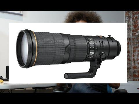 Three NEW Nikon Lenses: 500 F4e VR, 600 F4e VR, 16-80 DX F2.8-4e VR