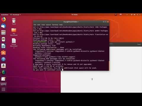 Ubuntu - Cài đặt python phiên bản mới nhất