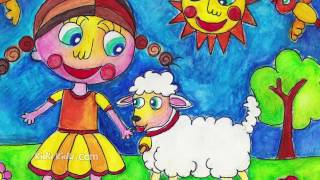 Mary had a little lamb nursery rhymes and poems for kids