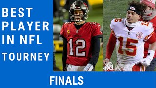 Best NFL Player Tournament Finals: Vote for Your NFL MVP