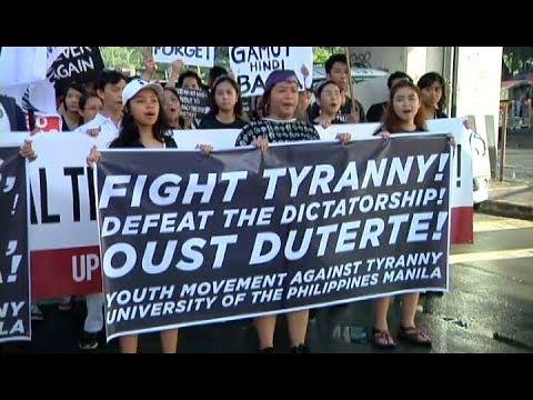 [UNTV]  Ika-46 anibersaryo ng martial law, sinabayan ng kilos-protesta