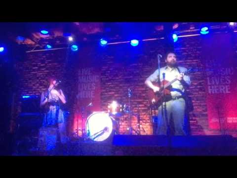 "Performing my original song ""Glitter Gulch"" with Michael Heath at the Roxy in Vancouver, BC"