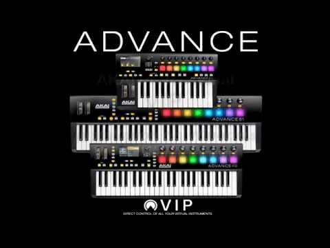 Akai Pro Advance Keyboards - VIP Windows Software Installation Walk Through