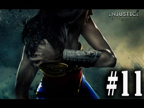 Injustice Gods Among Us Chapter 11: Wonder Woman - Complete Gameplay Walkthrogh