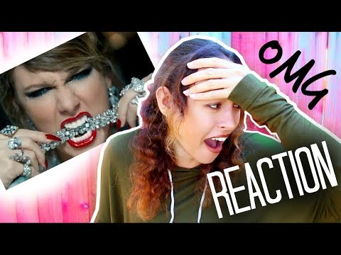 TAYLOR SWIFT - LOOK WHAT YOU MADE ME DO (Official Video) REACTION - Maddie Ryles