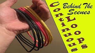 Continuous Loops - Locked Brummel Versus Straight Splice