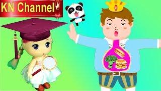 Trò chơi KN Channel BÉ KHÔNG CHỊU NHAI KHI ĂN |  GIÁO DỤC MẦM NON