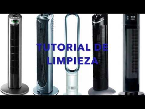 tutorial mantenimiento ventilador de torre marca onn o similar