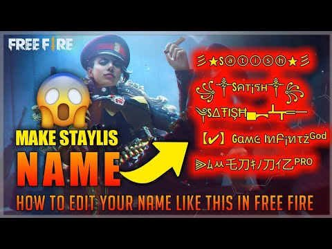 HOW TO CREATE A SUPER STYLISH NAME FOR YOU IN GARENA FREE FIRE