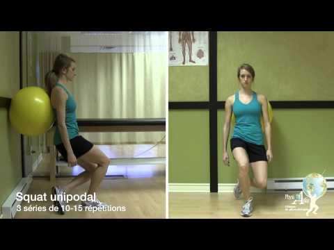comment renforcer muscles genou