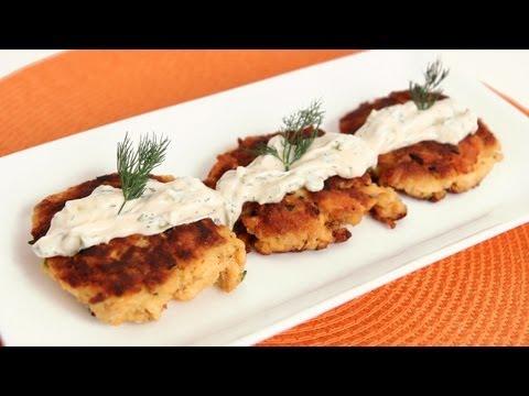 Salmon Cakes Recipe – Laura Vitale – Laura in the Kitchen Episode 573