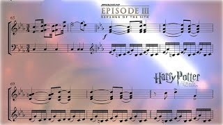 French Horn Tribute to John Williams ||  SHEET MUSIC VIDEO