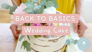 How to Make Your Own Wedding Cake AT HOME! | Georgia's Cakes