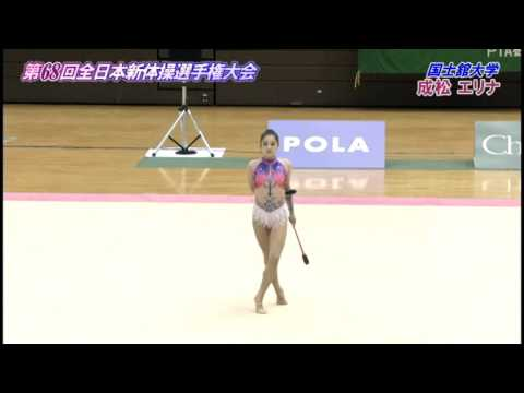 2015全日本新体操女子個人種目別決勝-クラブ