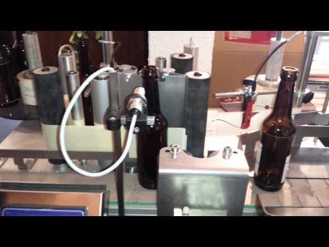 ELVO CODING - Etikettiermaschine Gabrielle 2 Bierflasche 0,33l
