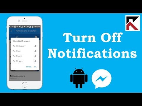 Download How To Turn Off Facebook Messenger Notifications