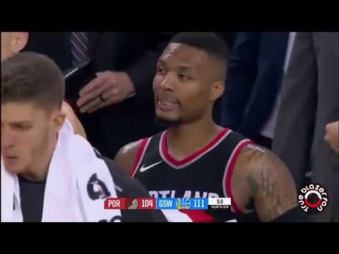 Portland Trail Blazers vs Golden State Warriors - Full Game Highlights - December 11, 2017