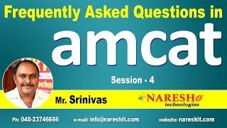 Quantitative Ability - Amcat | Frequently Asked Questions in Amcat | Session-4 | Amcat Tutorials